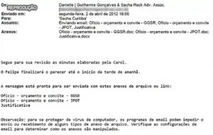 email transporte