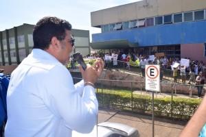 Jorge Vianna (Sindate-DF) critica prezarização das unidades de Saúde para implantação de OSs