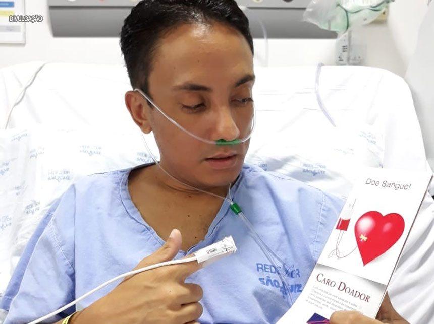 Urgente: Blogueiro de Brasília precisa de doadores de sangue tipo O+
